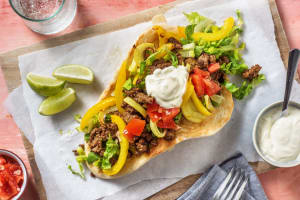 Spiced Beef 'Taco' Naan image