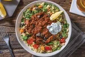 Spiced Black Bean & Roast Veggie Couscous image