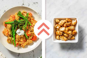 Spiced Chicken Breast, Pepper and Bulgur Jumble image