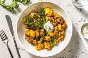 Spiced Chicken, Pepper and Bulgur Jumble image