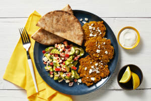 Spiced Chickpea Fritters image
