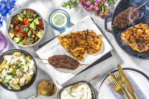 Spiced Yoghurt Chicken Breasts and Tandoori Beef Skewers image