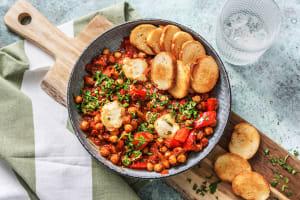 Spicy Chickpea Shakshuka image