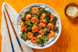 Spicy Shrimp & Broccoli Stir-Fry image