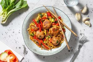 Spicy Szechuan Glazed Pork Meatballs image