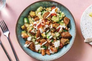 Herby Falafel & Tahini Couscous Bowl image