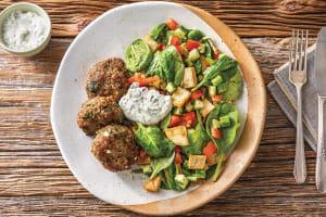 Speedy Beef, Spinach & Fetta Rissoles image
