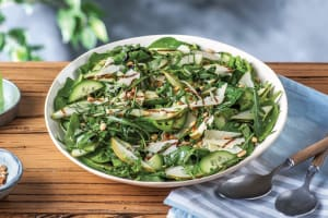 Spinach, Rocket & Pear Salad image