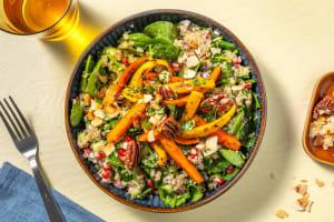 Spinat-Quinoa-Bowl mit Sumach-Nussmix image