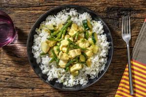 Sri Lankan Style Coconutty Hake Curry image