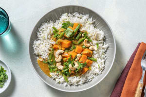 Sri Lankan Style Sweet Potato and Green Bean Curry image