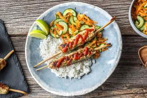 Sriracha Turkey Lemongrass Skewers image