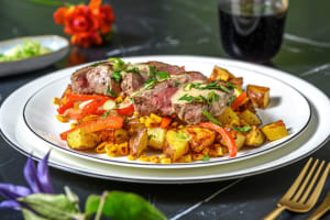 Steak and Creamy Chipotle Sauce image