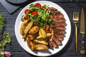 Steak Caprese and Sundried Tomato Butter image