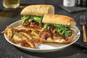 Steak, Caramelised Onion & Mushroom Subs image