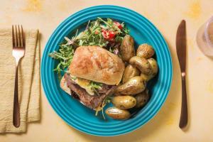 Minute Steak Ciabatta with Fried Potatoes image