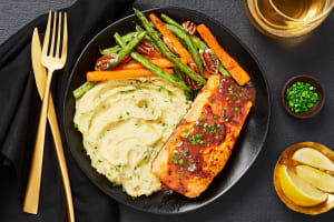Steelhead Trout in Cranberry Dijon Sauce image