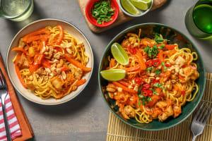 Sticky Asian Style Chicken Stir-Fry image