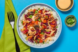 Sweet Chili Roasted Veg Bowls image