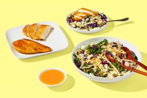 Strawberry Quinoa Harvest Salad & Fully Cooked Chicken image