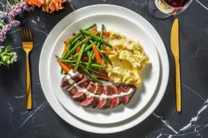 Striploin steak image