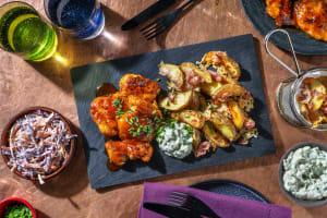 Spicy Honey Glazed Chicken image