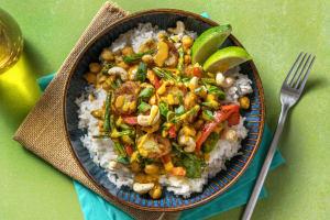Süßes gelbes Curry mit Banane image