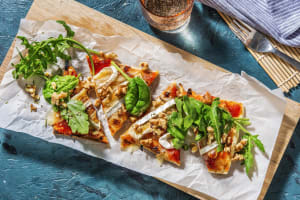 Sweet and Savoury Brie Flatbread image