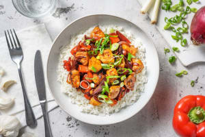 Sweet and Sour Style Chicken image