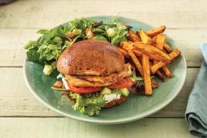 Sweet Chilli Chicken Burgers image