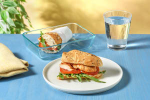 Sweet Chilli Chicken Sarnie with Rocket, Tomato and Mayo image