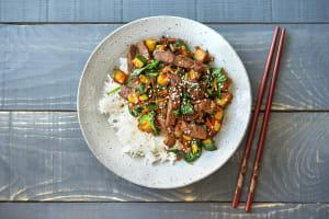 Sweet Korean Beef Bowl image