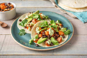 Sweet Potato and Black Bean Tacos image