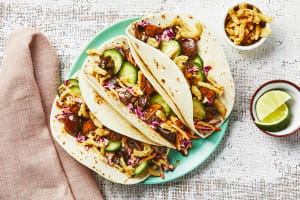 Sweet Soy Mushroom Tacos image