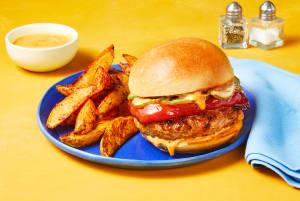 Sweet & Spicy Thai Turkey Burgers image