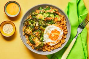 Sweet Thai Roasted Broccoli Bowls image