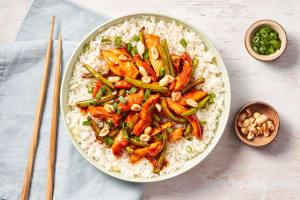 Szechuan Chicken & Green Bean Stir-Fry image