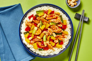 Szechuan Chicken & Pineapple Stir-Fry image