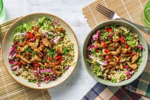 Salade de boulgour façon taboulé image