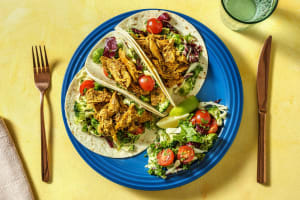 Pulled Chicken Tikka Tacos image