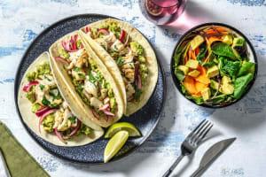 Tacos de cabillaud & guacamole maison image