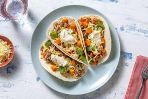 Fully Loaded Southwestern Turkey Tacos image