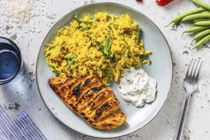 Tandoori Hasselback Chicken image
