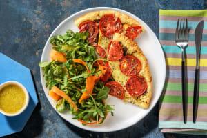 Tarte fine aux tomates et au cantal image