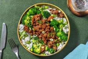 Teriyaki Beef Bowls image