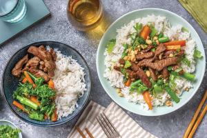 Teriyaki Beef & Veggie Bowl image
