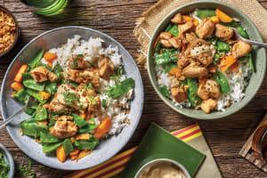 Teriyaki Chicken & Garlic Rice Bowl image