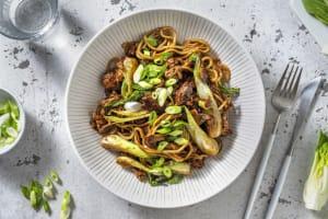Teriyaki Pork Noodle Stir-Fry image