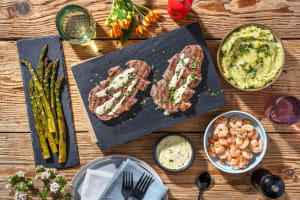 Classic Surf and Steak Dinner image