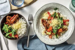 Tex-Mex Beef & Garlic Rice Bowl image
